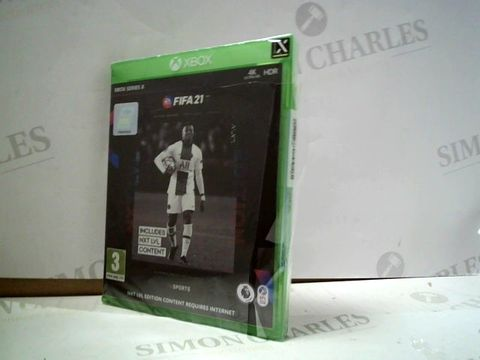 Lot 4127 FIFA 21 FOR XBOX SERIES X  RRP £90.00