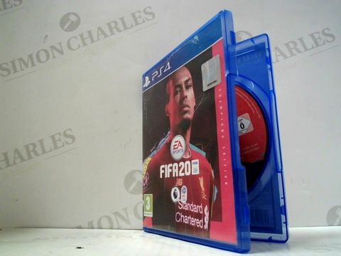 Lot 3034 FIFA 20 PLAYSTATION 4 GAME