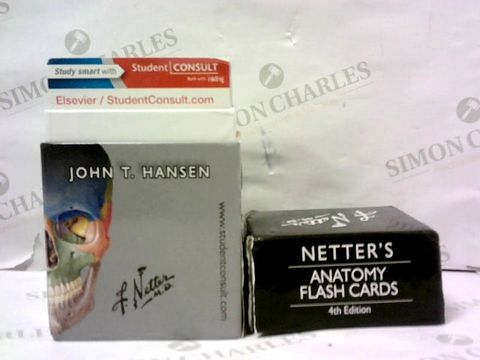Lot 513 NETTER'S ANATOMY FLASH CARDS 4TH EDITION
