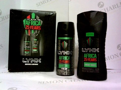 Lot 6035 LYNX AFRICA 25 YEARS GIFT BOX