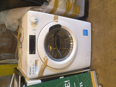 Lot 7074 CANDY SMART C'S 148TE-80 8KG 1400 SPIN WASHING MACHINE, WHITE