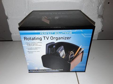 Lot 4146 PERFECT SOLUTIONS ROTATING TV ORGANISER