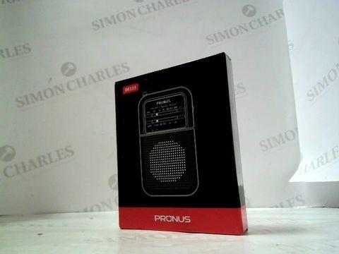 Lot 3126 PRONUS PORTABLE 2 BAND RADIO