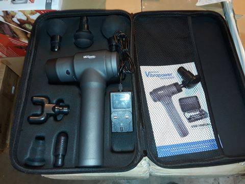 Lot 8256 VIBRA POWER CORDLESS MASSAGER WITH CARRY CASE