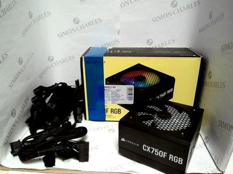 Lot 7568 CX-F RGB SERIES - CX750F RGB - RGB ATX POWER SUPPLY