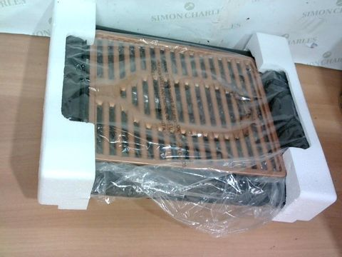 Lot 4109 GOTHAM STEEL COPPER NON-STICK ELECTRIC INDOOR GRILL