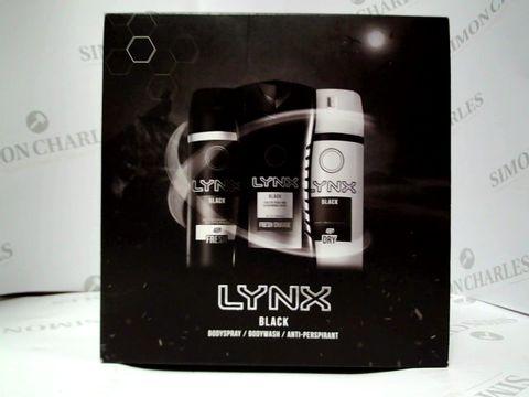 Lot 8040 LYNX BLACK - BODYWASH, BODYSPRAY AND ANTI-PERSPIRANT