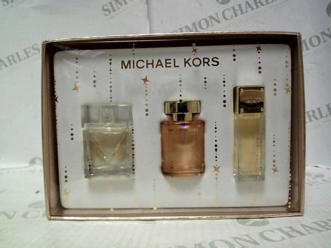 Lot 5072 MICHAEL KORS MINIATURES FRAGRANCE COLLECTION 3X4ML