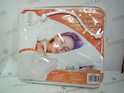 Lot 188 LIVIVO DOUBLE ELECTRIC UNDER BLANKET