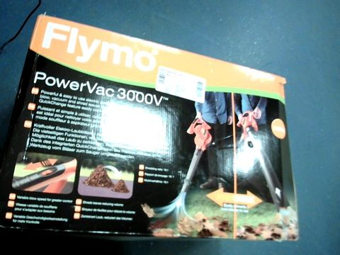 Lot 7605 FLYMO POWERVAC 3000V ELECTRIC BLOWER