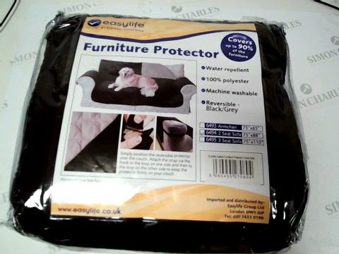 Lot 4906 FURNITURE PROTECTOR - BLACK FOR 2 SEATER