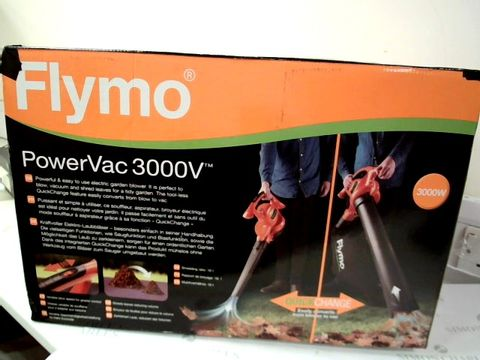 Lot 12453 FLYMO POWERVAC 3000V ELECTRIC BLOWER