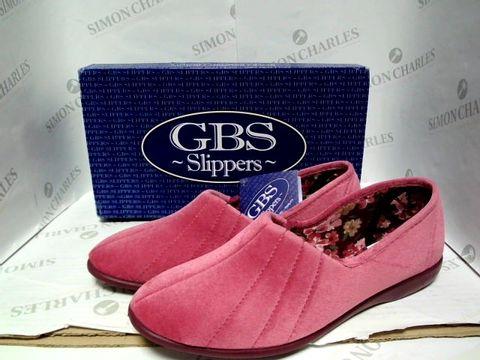 Lot 1008 CBS SLIPPERS - ROSE - UK SIZE 6