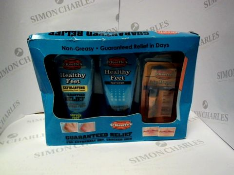 Lot 9261 O'KEEFE'S GUARANTEED RELIEF PACK FOR DRY CRACKED SKIN
