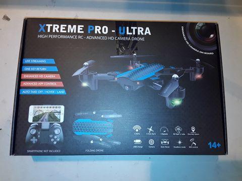 Lot 3087 XTREME PRO-ULTRA HIGH PERFORMANCE HD CAMERA DRONE