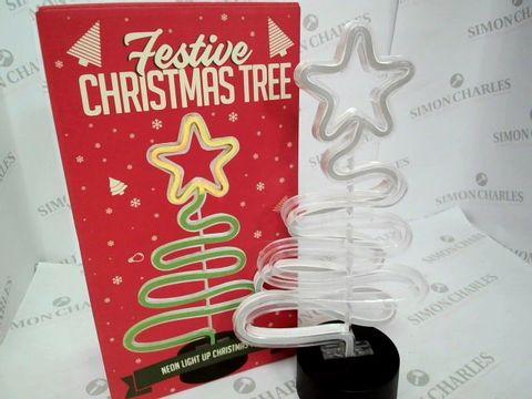 Lot 5044 FESTIVE CHRISTMAS TREE LIGHT RRP £20.99
