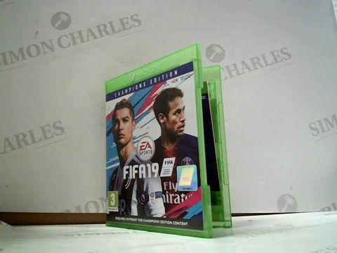 Lot 8044 FIFA 19 XBOX ONE GAME