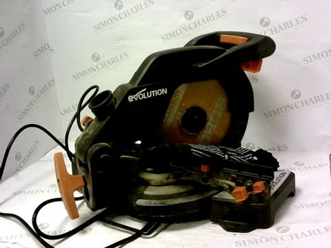 Lot 8105 EVOLUTION COMPOUND MITRE SAW