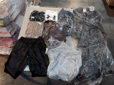 Lot 4045 CAGE OF ASSORTED UNPROCESSED ADULT CLOTHING ITEMS