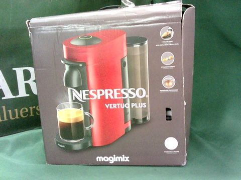 Lot 4025 NESPRESSO 11398 VERTUO PLUS SPECIAL EDITION, BY MAGIMIX, COFFEE CAPSULE MACHINE, ABS, 1260 W, WHITE