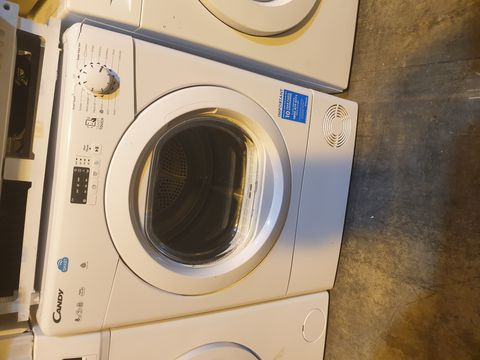 Lot 7030 CANDY CSVC8LG-80 8KG FREESTANDING CONDENSER TUMBLE DRYER - WHITE