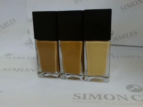 Lot 9451 BOX OF APPROXIMATELY 55 ASSORTED BRAND NEW LONGWEAR LIQUID FOUNDATIONS WITH SHADES TO INCLUDE NUTMEG, CINNAMON AND LATTE