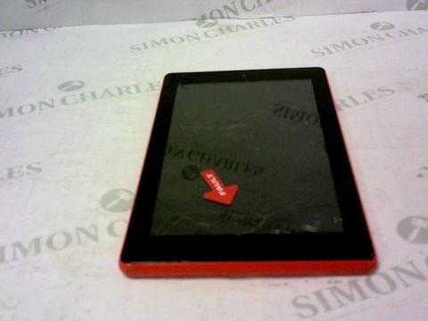 Lot 8070 AMAZON FIRE RED TABLET- SR043KI