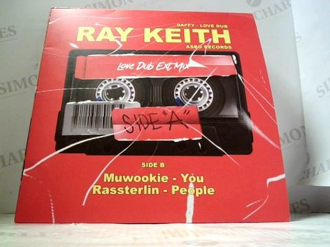 Lot 3265 LOT OF 10 ASSORTED VINYL RECORDS TO INCLUDE; RAY KEITH, FAITHLESS ETC