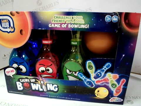 Lot 570 GRAFIX GAMES HUB LIGHT UP BOWLING