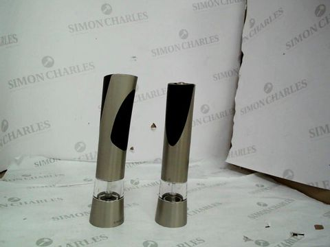 Lot 9020 COLE AND MASON ELECTRONIC SALT/PEPPER MILLS
