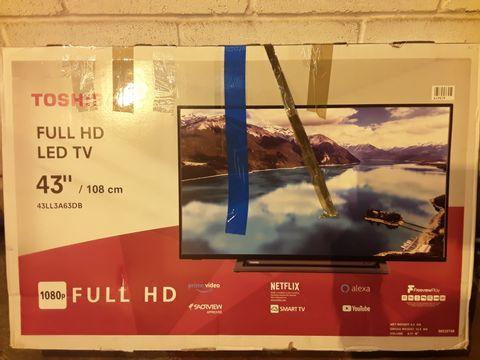 Lot 270 TOSHIBA 43U2963DB 43 INCH 4K HDR SMART TELEVISION