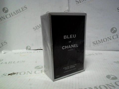 Lot 8119 BRAND NEW AND SEALED BLEU DE CHANEL EDT 100ML