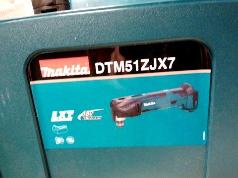 Lot 10329 MAKITA DTM51 18V LXT MULTI TOOL