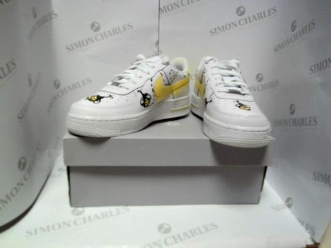 Lot 13033 BOXED PAIR OF DESIGNER NIKE AIR FORCE 1 - UK SIZE 5