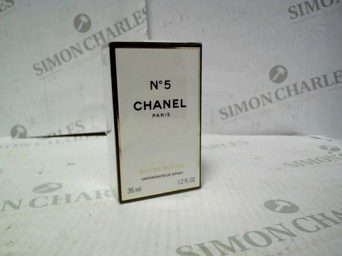 Lot 8074 BRAND NEW AND SEALED CHANEL NO. 5 EDP 35ML