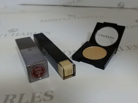 Lot 9446 BOX OF APPROXIMATELY 110 ASSORTED BRAND NEW MAKE UP ITEMS TO INCLUDE BEAU EYESHADOWS, KINDRED LIPSTICKS AND HONEY LIQUID CONCEALERS
