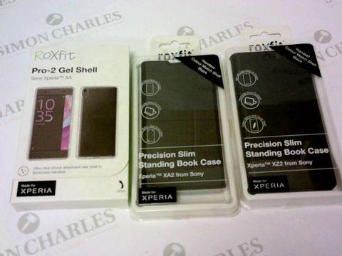 Lot 134 A BRAND NEW BOX OF APPROXIMATELY 15 ROXFIT PHONE CASES FOR SONY XPERIA XZ2 / XA / XA2