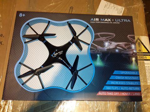 Lot 3343 AIR MAX ULTRA HIGH PERFORMANCE RC DRONE