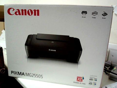 Lot 321 BOXED CANON PIXMA MG2550S PRINTER RRP £59.99