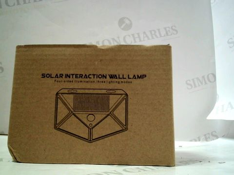 Lot 7016 SOLAR INTERACTION WALL LAMP