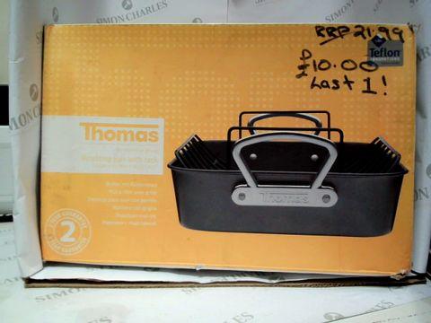 Lot 17605 THOMAS ROASTING PAN WITH RACK