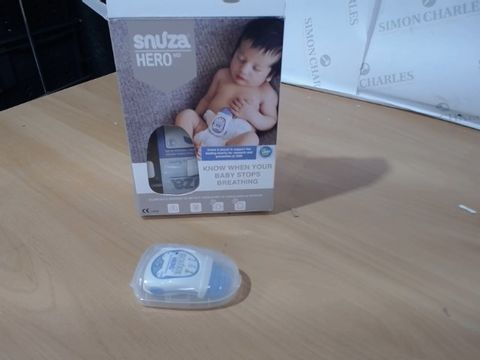 Lot 1044 SNUZA HERO MD BABY MOVEMENT MONITOR RRP £120.00