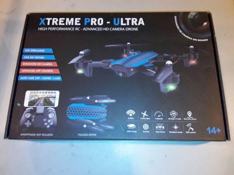 Lot 3246 XTREME PRO-ULTRA HIGH PERFORMANCE HD CAMERA DRONE