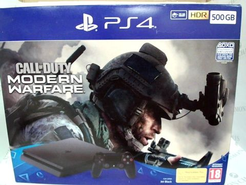 Lot 2600 BRAND NEW BOXED SONY PS4 + CALL OF DUTY MODERN WARFARE BUNDLE PACK