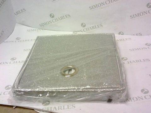 Lot 7212 FOLDING GLITTER STORAGE BOX RRP £18.99