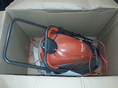 Lot 2280 FLYMO HOVER VAC 250 ELECTRIC HOVER COLLECT LAWNMOWER, 1400W, CUTTING WIDTH 25 CM