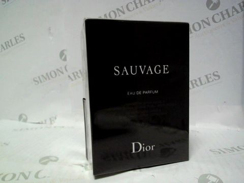 Lot 3080 BRAND NEW AND SEALED DIOR SAUVAGE EDP 100ML + 10ML TRAVEL BOTTLE