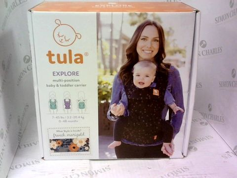 Lot 4221 TULA EXPLORE BABY AND TODDLER CARRIER