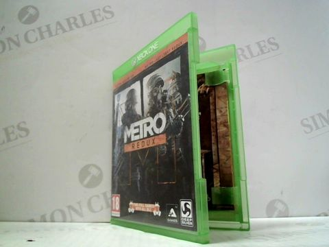 Lot 3050 METRO REDUX XBOX ONE GAME