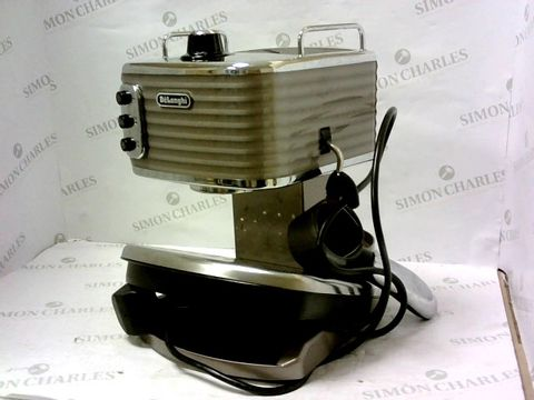 Lot 11253 DELONGHI SCULTURA ESPRESSO AND CAPPUCCINO COFFEE MAKER